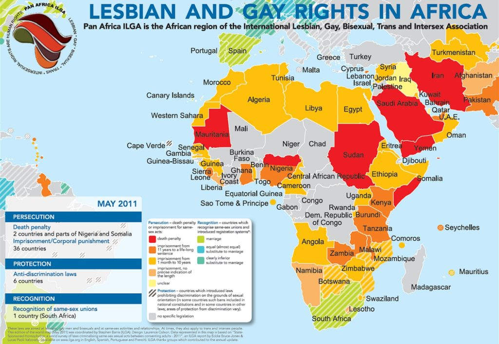 Gay, Lesbian, Bisexual and Transsexual Rights in Africa